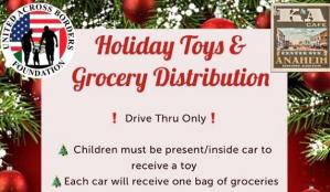 Holiday Toys and Grocery Distribution